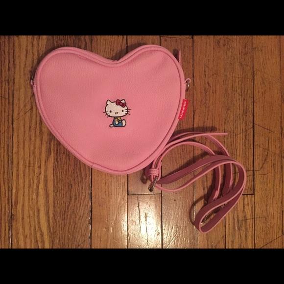 f31fb6e69 Lazy Oaf Handbags - Hello Kitty x Lazy Oaf heart bag
